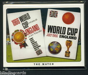ENGLAND WORLD CUP WINNERS 1966 CARDS - England v West Germany Final  Moore Hurst