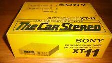 Brand New SONY XT-11 FM Stereo FM-AM Tuner 1979