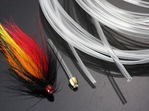 1.8mm Plastic Liner Tube +Junction Tube flies Fly tying material;600cm ,C601ZH