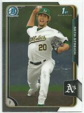 Seth Streich San Diego Padres 2015 Bowman Chrome Prospect