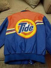 Nascar Jeff Hamilton Tide Leather Jacket