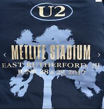 U2 METLIFE STADIUM JUNE 28 29 2017 NEW  YORK  JERSEY SHIRT  XL OFFICIAL BONO