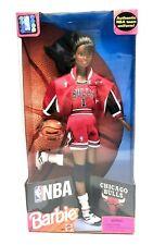 Barbie African American Licensed Nba Chicago Bulls in Nba Uniform '98 - New