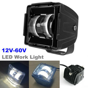 1PCS 65W LED Work Light Flood Spot Beam Car RV Boat SUV Driving Fog Lamp 12V-60V