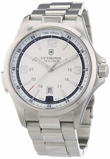 VICTORINOX Swiss Army 241571 Night Vision Men's Analog Watch Steel Bracelet