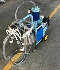 Electric Milking Machine Piston Milker With 25l 304 Stainless Steel Bucket 110v