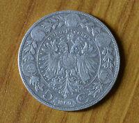 5 CORONE AUSTRIA FRANCESCO GIUSEPPE 1900 ARGENTO  numismatica SUBALPINA