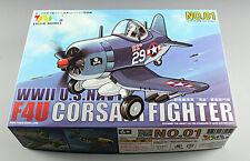 Tiger Model 101 WWII U.S.Navy F4U Corsair Fighter (Q Edition)