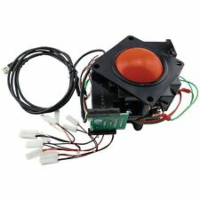 "3"" HAPP RED TRANSLUCENT TRACKBALL USB, Great for MAME and Multicades"