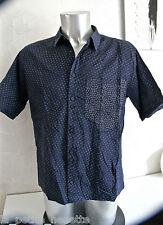 carino camicia a maniche corte M & F GIRBAUD taglia 48 (L) eccellenti condizioni