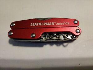 USED Leatherman Juice C2 - Inferno Red c