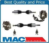 Fits 08-12 Jeep LIBERTY Front CV Axle Shafts Wheel Hub Bearing Lower Ball Joints