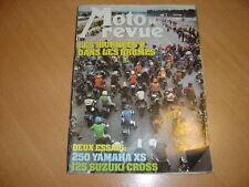Moto revue N° 2306 Yamaha 250 XS.Suzuki 125 Cross RMB