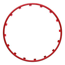 "Wheel  Protector - Rim Ringz 17"" Red"