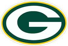 "Green Bay Packers NFL Football wall decor sticker Large vinyl decal  8.5""x12.5"""