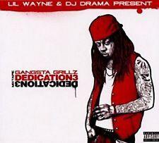 CD DIGIPACK LIL WAYNE - THE DEDICATION / VOL.3  / neuf & scellé