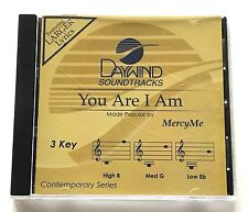 Daywind - Mercy Me - You Are I Am - accompaniment track christian cd - new 8395D