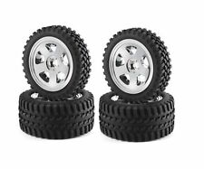 CARSON RICAMBI ALL TERRAIN SET 4 RUOTE COMPLETE 1/10 OFF ROAD BUGGY    500900028