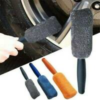 Microfiber Cleaning Brush Car Wash Tool Wheel Cleaner Multicolors Accessories Q8