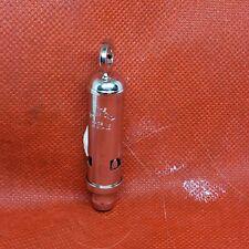 Acme  Nickel Plated Mini metropolitan EDC Whistle , Emergency & Police Whistle
