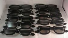 10 Pairs of RealD 3D Polarized Digital Glasses