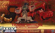 Transformers Platinum Edition Year of the Snake Optimus Prime 2013 Hasbro