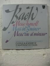 6769 002 BACH Mass MARSHALL BAKER TEAR RAMEY MARRINER PHILIPS STEREO 3LP BOXSET