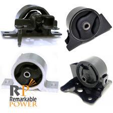 Front /& Rear Motor Engine Mounts Set of 2 Pair For 95-99 Maxima Infiniti I30