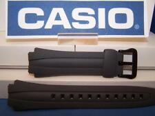 Casio Watch Band AQ-160 W-7 Gray Rubber Strap. Also fits AQ-163
