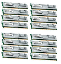 16x 8GB 128GB RAM 2Rx4 FBDIMM Speicher 667 Mhz ECC Fully Buffered DDR2 PC2-5300F