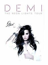 DEMI LOVATO AUTOGRAPHED SIGNED A4 PP POSTER PHOTO 3