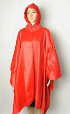 Brand New Chromatics by Totes Women's Vinyl Red Poncho One Size
