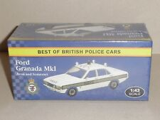 BEST OF BRITISH POLICE CARS, FORD GRANADA MK1 AVON  (VANGUARD CASTINGS) JA13