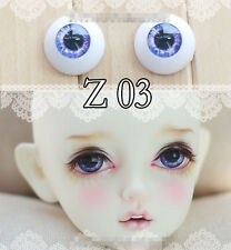 Purple Eyes 1 Pair 12mm,14mm,16mm,18mm For Bjd Doll Sd Luts Dod As Gc46
