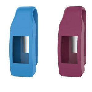 Watch Case Metal Clip Silicone Cover Holder For Fitbit Inspire / Inspire HR
