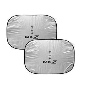 Lincoln MKZ Dual Panels Easy Folding Windshield Sun Shade