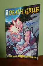 Death Grub #1 2008 VF/NM 9.0 signed by author