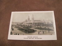 1908 Franco-British Exhibition real photo Postcard - Cascade Gardens - London