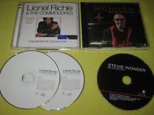 Lionel Richie The Definitive Collection & Stevie Wonder Ballad Collection 2 CDs