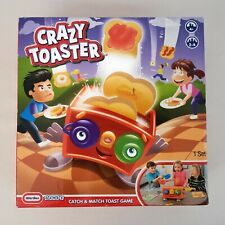 CRAZY TOASTER CATCH AND MATCH GAME LITTLE TIKES GAMES