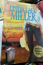Deadly Gamble by Linda Lael Miller signed copy 037377141x