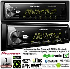 Pioneer Mvh X580DAB AUTO ESTÉREO AM/FM DAB + Spotify Apple Bluetooth Usb Android
