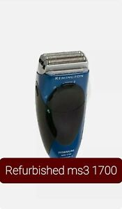 Remington MS3 1700 shaver Rechargeable MicroScreen WITH ALL ACCESSORIES ms3-1000
