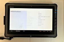 Used Getac F110 Tablet - Intel Core i7-4600U @ 2.10 GHz, 8 GB RAM, 128 m.2 SSD