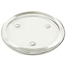 3 Inch Flat Glass Candle Holder Dish Plate