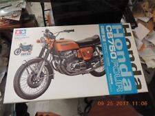 TAMIYA 1/6 HONDA CB750 FOUR MOTORCYCLE BIKE KIT #92186 CANDY BLUE W/DETAIL BOOK