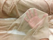 Khaki/dk.Nude Power Mesh 4way Stretch Nylon Lycra Spandex.Dance Wear/Bridal/Prom
