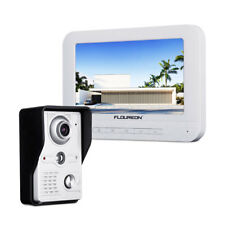 "7"" Wired TFT LCD Doorbell Video IR Camera Bell Interphone Intercom Home Security"