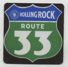 Rolling Rock Beer COASTER - Route 33 Road Sign Design