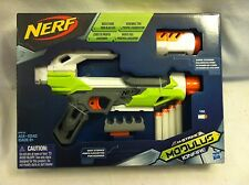 NERF N-Strike Modulus IonFire Blaster Gun w/ Barrel Extension & Dart Storage New